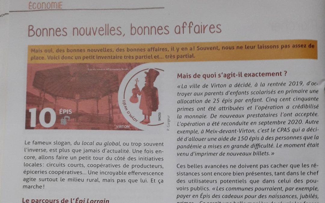 L'ACRF PARLE DE L'EPI
